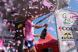 Megan Guarnier (Boels Dolmans) regains the pink jersey with three stages to go at Giro Rosa 2016 - Stage 6. A 118.6 km road race from Andora to Alassio, Italy on July 7th 2016.