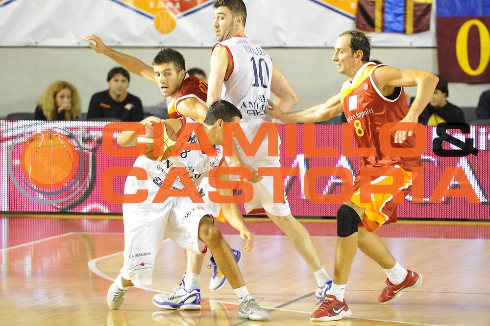 DESCRIZIONE : Roma Lega A 2011-12 Virtus Roma Angelico Biella<br /> GIOCATORE : Massimo Chessa<br /> CATEGORIA : palleggio blocco<br /> SQUADRA : Angelico Biella<br /> EVENTO : Campionato Lega A 2011-2012<br /> GARA : Virtus Roma Angelico Biella<br /> DATA : 16/10/2011<br /> SPORT : Pallacanestro<br /> AUTORE : Agenzia Ciamillo-Castoria/GiulioCiamillo<br /> Galleria : Lega Basket A 2011-2012<br /> Fotonotizia : Roma Lega A 2011-12 Virtus Roma Angelico Biella<br /> Predefinita :