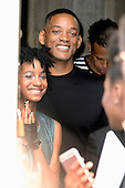 Will and Willow Smith Paris Fashion Show
