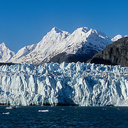 The McBride tidewater Glacier, Glacier Bay national Park and Preserve, Southeast Alaska, USA.<br />