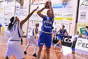 ORVIETO 11 DICEMBRE 2012<br /> BASKET NAZIONALE ITALIANA FEMMINILE<br /> ITALIA - ORVIETO<br /> NELLA FOTO KATHRIN RESS<br /> FOTO CIAMILLO