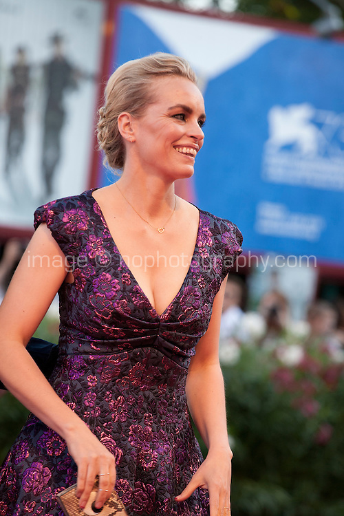 Nina Hoss at the opening ceremony and premiere of the film La La Land at the 73rd Venice Film Festival, Sala Grande on Wednesday August 31st, 2016, Venice Lido, Italy.