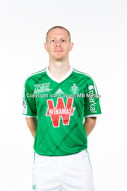 Jonathan BRISON - 06.10.2014 - Portrait Officielle de Saint Etienne - Ligue 1<br /> Photo : Icon Sport