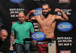 East Rutherford, NJ - May 04, 2012: Johny Hendricks during the weigh-ins for UFC on FOX 3 at the Izod Center in East Rutherford, New Jersey.  Ed Mulholland for ESPN.com
