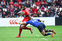Mathieu Bastareaud / Ben Te'O  - 19.04.2015 - Toulon / Leinster - 1/2Finale European Champions Cup -Marseille<br /> Photo : Andre Delon / Icon Sport