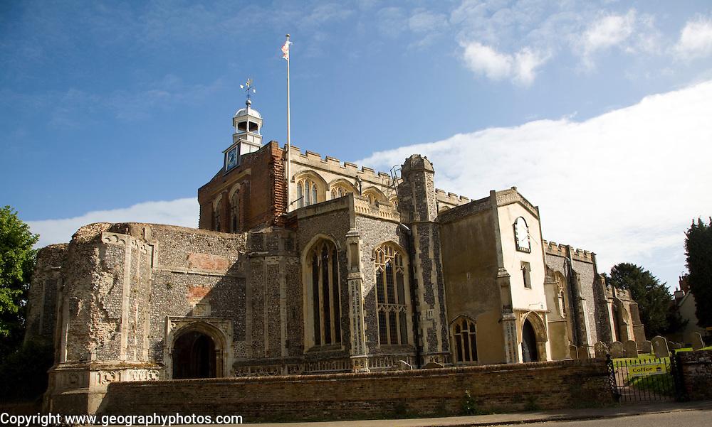 Church of Saint Mary, East Bergholt, Suffolk, England