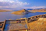 Clark Reservoir near Dell, Montana, USA