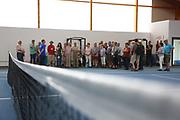 Ludwigshafen. 03.06.17 | BASF Tennisclub<br /> BASF Tennisclub. Begehung der Anlage<br /> <br /> <br /> BILD- ID 038 |<br /> Bild: Markus Prosswitz 03JUN17 / masterpress (Bild ist honorarpflichtig - No Model Release!)