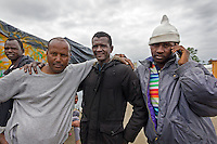 Friends, The Jungle, refugee camp, Calais, France