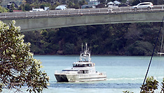 Auckland-Man falls from Upper Harbour Bridge