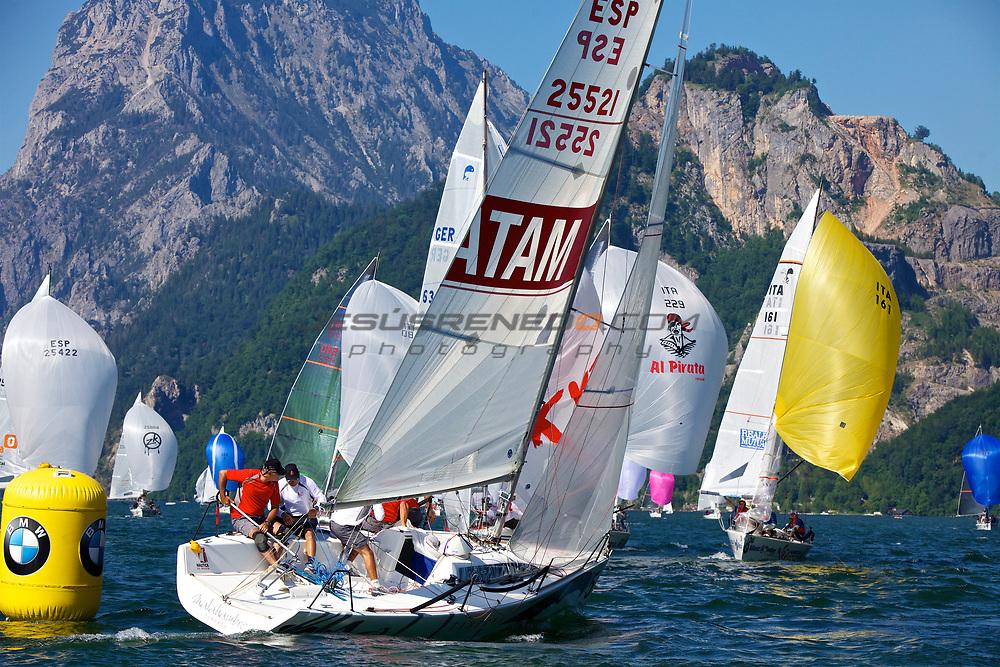 Platu25 worlds 2011, Gmundenlake traunsee,Austria,day 1