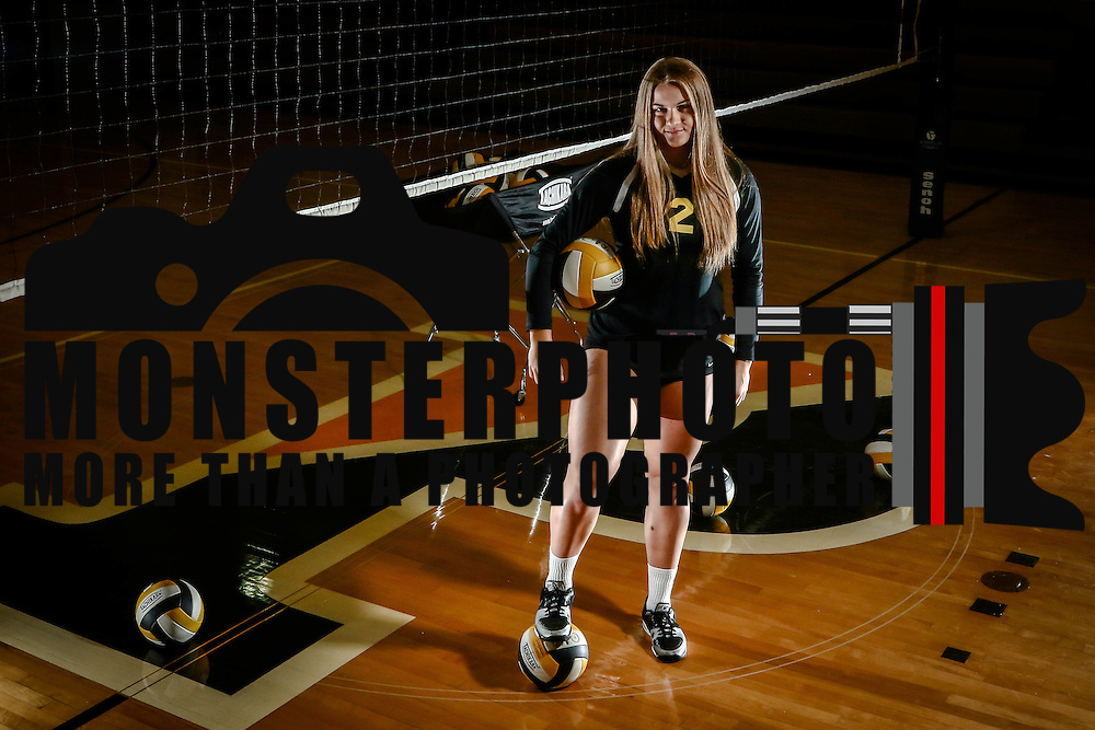 Athlete of the Year Volleyball standout Emily Jarome Friday, Dec. 16, 2016, at Padua Academy in Wilmington Delaware.