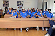 ROMA 25 GIUGNO 2013<br /> NAZIONALE MASCHILE<br /> ACQUA ACETOSA VISITE MEDICHE<br /> NELLA FOTO NAZIONALE ITALIANA<br /> FOTO CIAMILLO