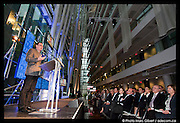 Prix Hommage 2011 décerné à Michel Labrecque, président du conseil d'administration de la Société de Transport de Montréal (STM) remis lors du Gala des Prix d'excellence 2011 de la SQPRP, Société québécoise des professionnels en relations publiques -  la salle Le Parquet du CDP Capital / Montreal / Canada / 2011-05-26, Photo : © Marc Gibert/ adecom.ca
