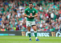 Rugby Union - 2019 pre-Rugby World Cup warm-up (Guinness Summer Series) - Ireland vs. Wales<br /> <br /> Robbie Henshaw (Ireland) at The Aviva Stadium.<br /> <br /> COLORSPORT/KEN SUTTON