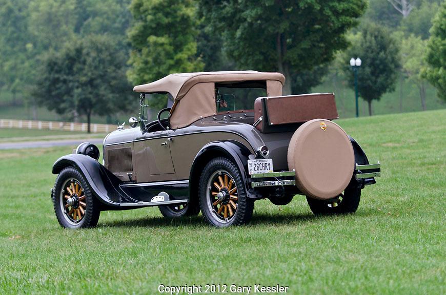1926 Chrysler,Keeneland Concours D'Elegance,Lexington,Ky.