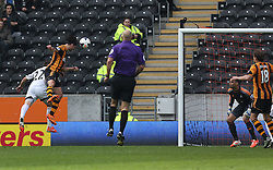 Hull's George Boyd scores the first goal - Photo mandatory by-line: Matt Bunn/JMP - Tel: Mobile: 07966 386802 05/04/2014 - SPORT - FOOTBALL - KC Stadium - Hull - Hull City v Swansea City- Barclays Premiership