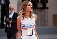 Christa Theret at the premiere gala screening of the film Doubles Vies (Non Fiction)  at the 75th Venice Film Festival, Sala Grande on Friday 31st August 2018, Venice Lido, Italy.