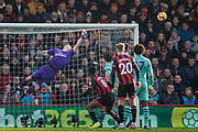 Bernd Leno (GK) (Arsenal) saves a ball during the Premier League match between Bournemouth and Arsenal at the Vitality Stadium, Bournemouth, England on 25 November 2018.