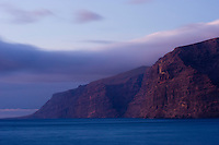 "The ""Gigantes"", a big sea cliff in the South of Tenerife Island, Canary Islands, Spain."
