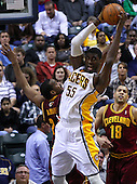 NBA-Indiana Pacers vs Cleveland Cavaliers-Indianapolis, IN