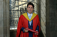 Edinburgh Honorary degree for Canadian Prime Minister Justin Trudeau<br />  <br /> The Prime Minister of Canada, The Rt Hon Justin Trudeau, has been awarded an honorary degree at the University of Edinburgh today (Wednesday, 5 July).<br />  <br /> Mr Trudeau received the degree of Doctor honoris causa at the newly-refurbished McEwan Hall prior to being received in audience by Her Majesty The Queen at the Palace of Holyroodhouse in Edinburgh.<br />  <br /> The award, which was presented by University's Principal and Vice Chancellor, Professor Sir Timothy O'Shea, is in recognition of Mr Trudeau's achievements as a public servant with strong commitments to equality and diversity.<br />  <br /> <br />  Neil Hanna Photography<br /> www.neilhannaphotography.co.uk<br /> 07702 246823