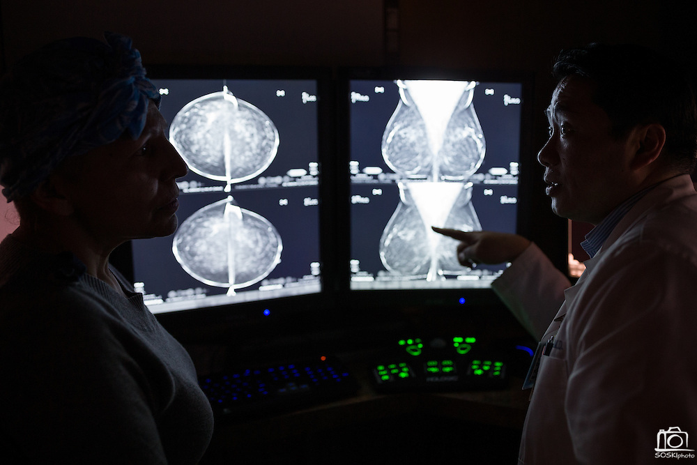 Good Samaritan Hospital Oncology/Radiology marketing campaign photographed at the Mission Oaks Campus in Los Gatos, California, on November 15, 2016. (Stan Olszewski/SOSKIphoto)