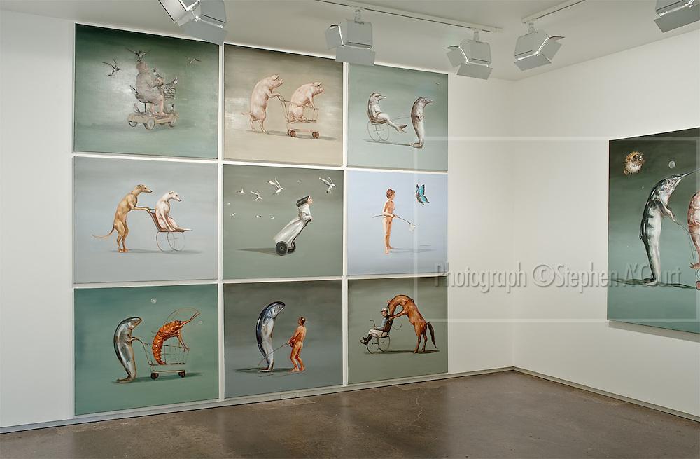 The work of Bowen Galleries' represented artist Joanna Braithwaite.