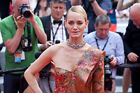 Amber Valletta at the Wonderstruck gala screening,  at the 70th Cannes Film Festival Thursday May 18th 2017, Cannes, France. Photo credit: Doreen Kennedy