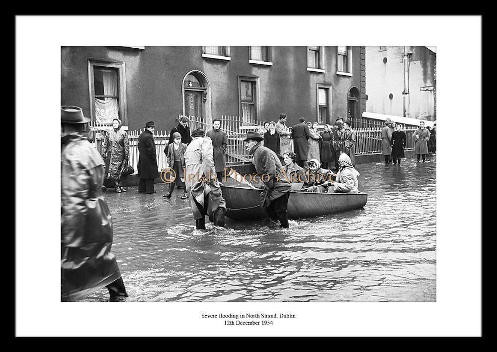 Old Irish Photos are unique and special. This shot of the flooding in Dublin from 1954 is really rare. Irish Photo Archive has saved millions of old Irish photographs.