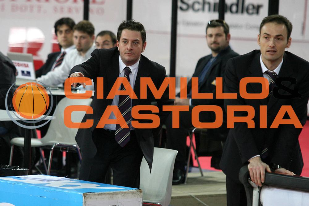 DESCRIZIONE : Roma Lega A1 2005-06 Lottomatica Virtus Roma Angelico Biella <br /> GIOCATORE : Bajesi Bechi <br /> SQUADRA : Angelico Biella <br /> EVENTO : Campionato Lega A1 2005-2006 <br /> GARA : Lottomatica Virtus Roma Angelico Biella <br /> DATA : 02/04/2006 <br /> CATEGORIA : Ritratto <br /> SPORT : Pallacanestro <br /> AUTORE : Agenzia Ciamillo-Castoria/G.Ciamillo