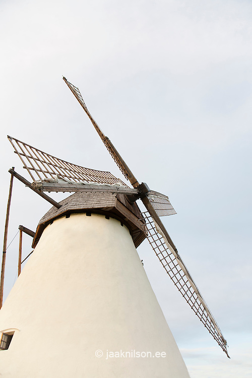 old windmill exterior