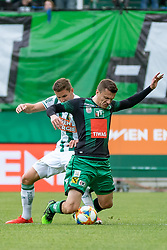 11.05.2019, Allianz Stadion, Wien, AUT, 1. FBL, SK Rapid Wien vs FC Wacker Innsbruck, Qualifikationsgruppe, 30. Spieltag, im Bild v. l. Maximilian Hofmann (SK Rapid Wien), Zlatko Dedic (FC Wacker Innsbruck) // f. l. Maximilian Hofmann (SK Rapid Wien) Zlatko Dedic (FC Wacker Innsbruck) during the tipico Bundesliga master qualification group 30th round match between SK Rapid Wien and FC Wacker Innsbruck at the Allianz Stadion in Wien, Austria on 2019/05/11. EXPA Pictures © 2019, PhotoCredit: EXPA/ Florian Schroetter