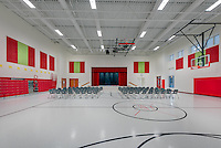 Interior image of Madison's Trust  Elementary School in Brambelton Virginia by Jeffrey Sauers of Commercial Photographics, Architectural Photo Artistry in Washington DC, Virginia to Florida and PA to New England