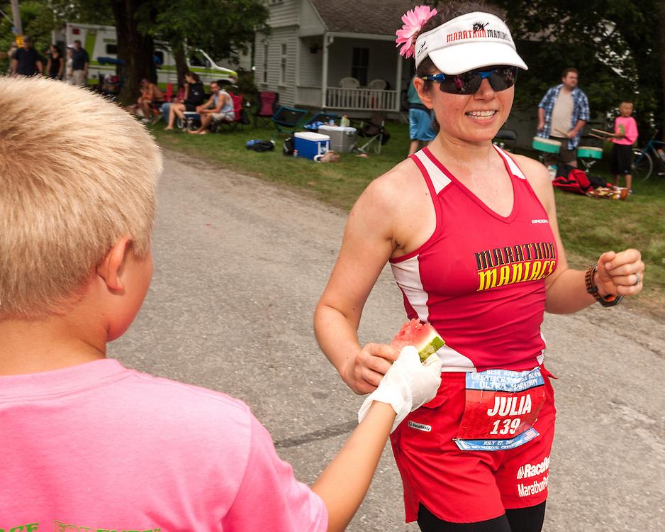 Great Cranberry Island Ultra 50K road race: Julia Khvasechko