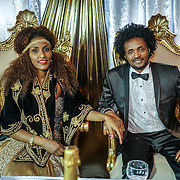Ethiopian wedding party