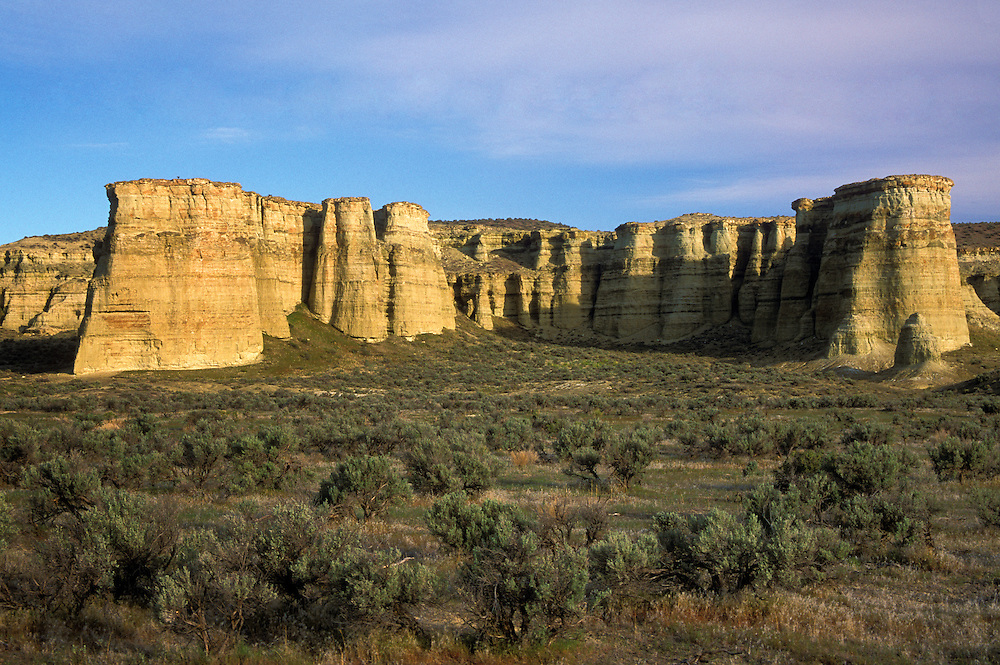 Pillars of Rome rock formation, Jordan Valley, southeast Oregon.
