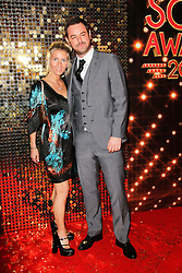 © London News Pictures. File pic dated 24/05/2014. Danny Dyer with his long term partner Joanne Mas at the  British Soap Awards in London on May 24, 2014. It has been reported that Dyer has had an affair  with a 21-year-old student.  Photo credit: Richard Goldschmidt/LNP