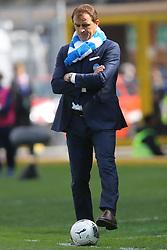 """Foto Filippo Rubin<br /> 26/03/2017 Ferrara (Italia)<br /> Sport Calcio<br /> Spal vs Frosinone - Campionato di calcio Serie B ConTe.it 2016/2017 - Stadio """"Paolo Mazza""""<br /> Nella foto: LEONARDO SEMPLICI<br /> <br /> Photo Filippo Rubin<br /> March 26, 2017 Ferrara (Italy)<br /> Sport Soccer<br /> Spal vs Frosinone - Italian Football Championship League B ConTe.it 2016/2017 - """"Paolo Mazza"""" Stadium <br /> In the pic:"""