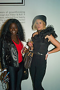 ZANDILE BLAY AND ANNE LOOK, The private view of exhibition 'The House of Viktor & Rolf', at The Barbican Gallery.  London.  June 17 2008. *** Local Caption *** -DO NOT ARCHIVE-© Copyright Photograph by Dafydd Jones. 248 Clapham Rd. London SW9 0PZ. Tel 0207 820 0771. www.dafjones.com.
