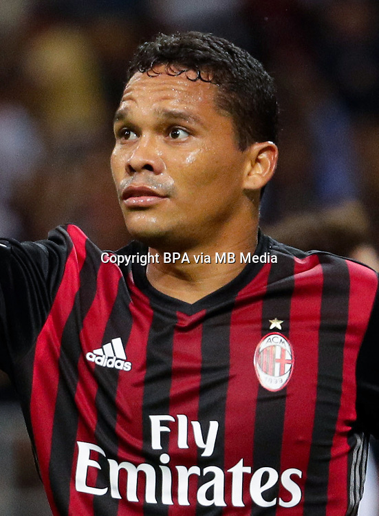 Italian League Serie A -2016-2017 / <br /> ( AC Milan  ) - <br /> Carlos Arturo Bacca Ahumada &quot; Carlos Bacca &quot;