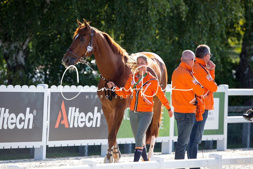 Cornelissen Adelinde, (NED),  Jerich Parzival<br /> Alltech FEI World Equestrian Games&trade; 2014 - Normandy, France.<br /> &copy; Hippo Foto Team - Leanjo de Koster<br /> 25/06/14