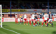 Dundee&rsquo;s Faissal El Bakhtaoui fires his side into the lead - Dundee v Kilmarnock in the Ladbrokes Scottish Premiership at Dens Park, Dundee. Photo: David Young<br /> <br />  - &copy; David Young - www.davidyoungphoto.co.uk - email: davidyoungphoto@gmail.com