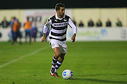Forest Green Rovers Fabien Robert(26) during the Vanarama National League match between Solihull Moors and Forest Green Rovers at the Automated Technology Group Stadium, Solihull, United Kingdom on 25 October 2016. Photo by Shane Healey.