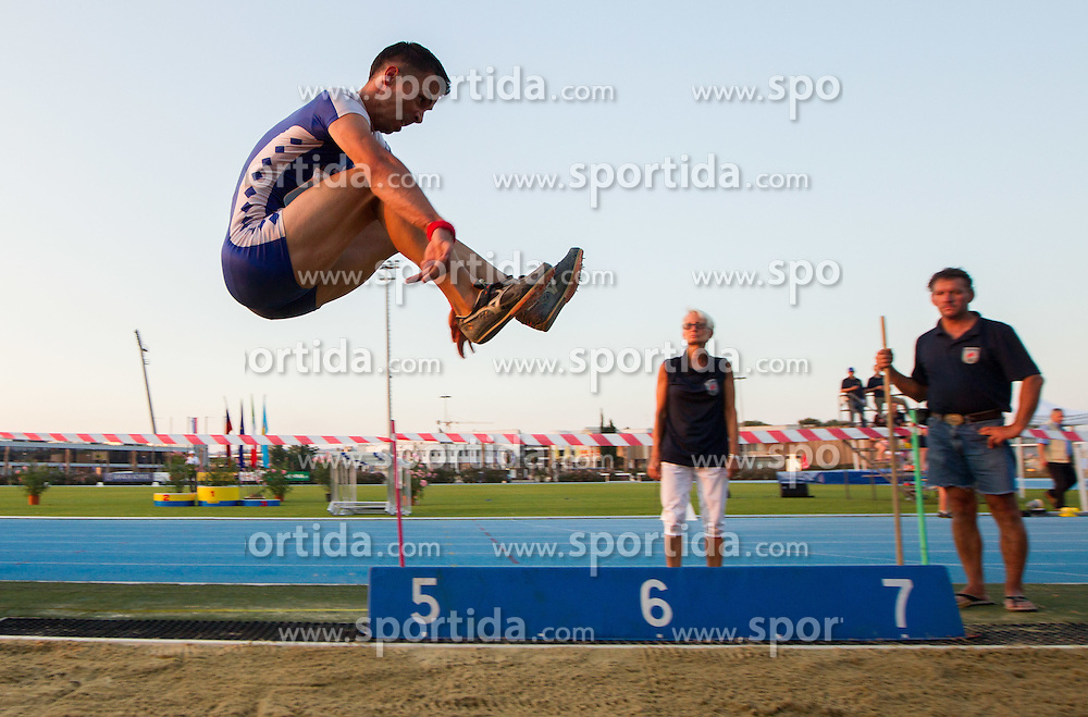 Bostjan Fridrih during Day 1 of Slovenian Athletics National Championships 2012, on July 7, 2012 in Koper, Slovenia.  (Photo by Vid Ponikvar / Sportida.com)