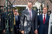 Koning Willem-Alexander en Koning Felipe VI vertrekken bij het Rijksmuseum na de opening van de tentoonstelling Rembrandt-Velazquez. Nederlandse en Spaanse Meesters<br /> <br /> King Willem-Alexander and King Felipe VI leave the Rijksmuseum after the opening of the Rembrandt-Velazquez exhibition. Dutch and Spanish Masters