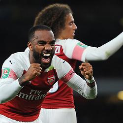 Arsenal v Brentford, Carabao Cup, 26 September 2018