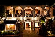 Villa Santi guest house and restaurant, Luang Prabang, Laos.