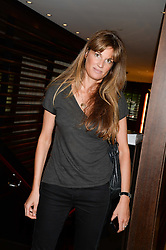 JEMIMA KHAN at a party to celebrate Ben Goldsmith guest-editing the July/August 2013 edition of Spears Magazine held at 45 Park Lane, London on 19th June 2013.