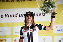 Lucinda Brand (NED) at Lotto Thuringen Ladies Tour 2018 - Stage 3, a 131 km road race starting and finishing in Schleiz, Germany on May 30, 2018. Photo by Sean Robinson/Velofocus.com